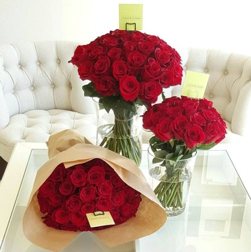 Bunch of Roses by Flour and Flower Bahrain Florist Delivery