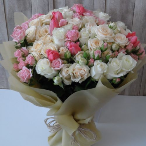 Spring Fling Flowers by Magic Touch Florist Bahrain Delivery