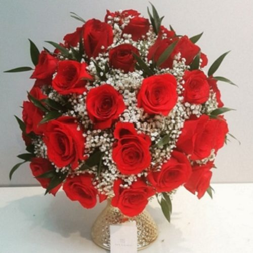 Red Passion by RainFlorist Bahrain Flower Delivery