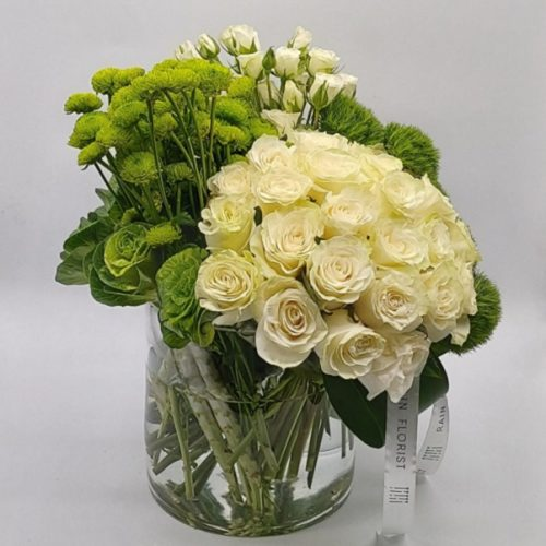 Snow White by Rainflorist Bahrain Flowers Delivery