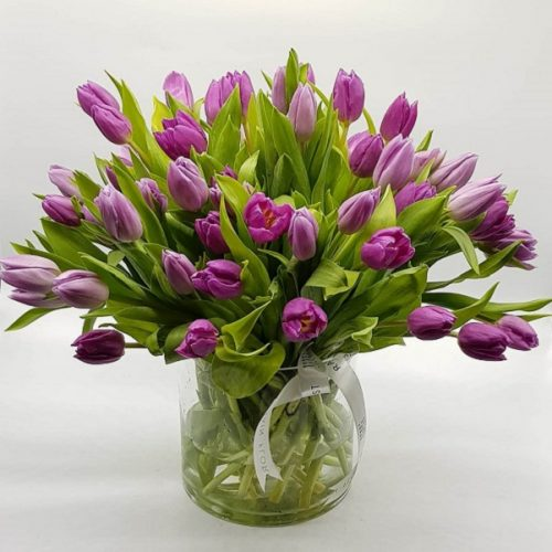 Classy Tulip by Rainflorist Bahrain Flowers Delivery
