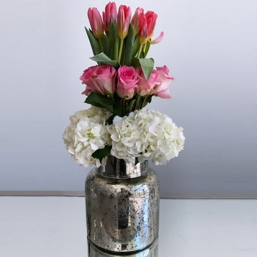 Tulip Jar by Le Cadeau Bahrain Flowers Delivery