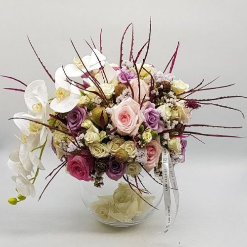 Yours Truly by RainFlorist Bahrain Flowers Delivery