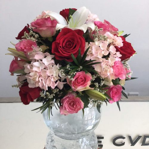 Mixed Blooms by Le Cadeau Bahrain Flowers Delivery