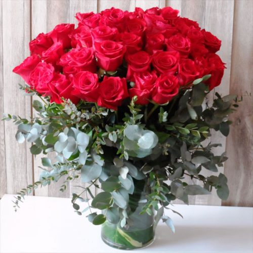 Blooming Love by Magic Touch Flowers Bahrain Delivery
