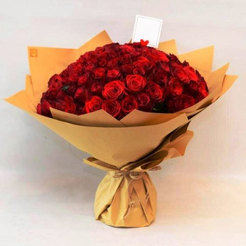 Hundred Love by Petals Bahrain Flowers Delivery