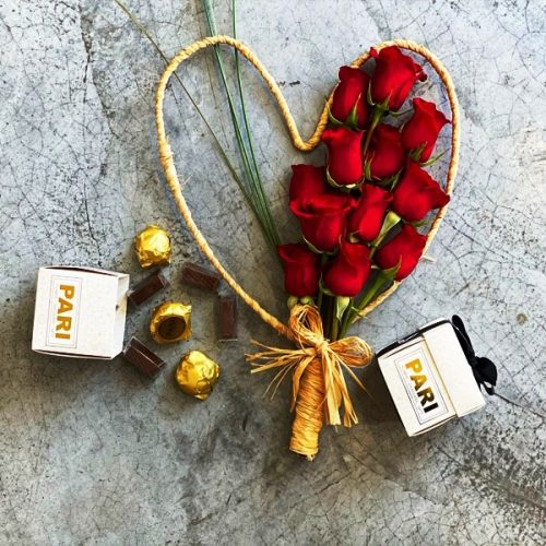 Choco Roses by Pari Flowers Chocolates Bahrain Delivery