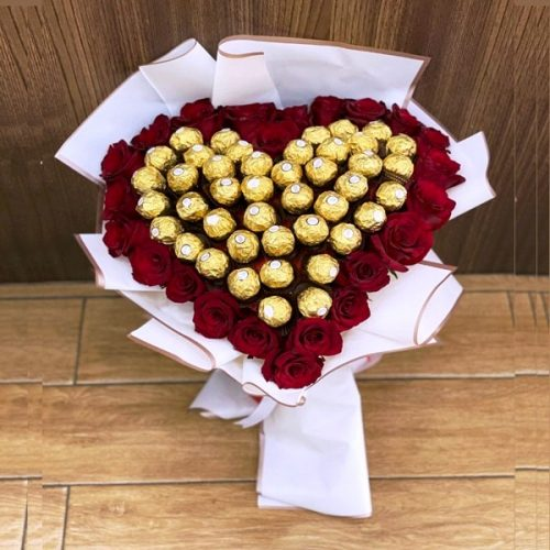 Fresh Rocher by Heaven Garden Flowers Chocolates Bahrain Delivery