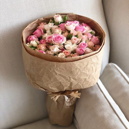 Heavenly Roses By Flour and Flower Flowers Delivery Bahrain