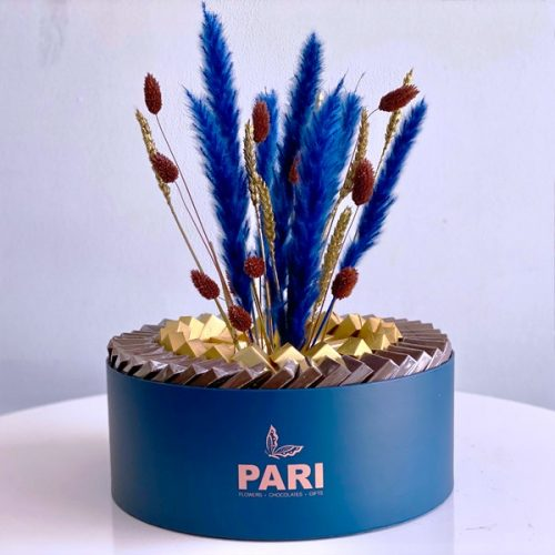 Perfect Blue by Pari Flowers Chocolates Bahrain Delivery
