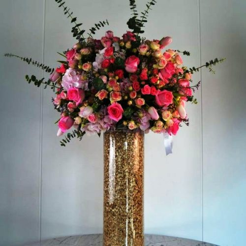 Pink Splash by RainFlorist Flowers Bahrain Delivery
