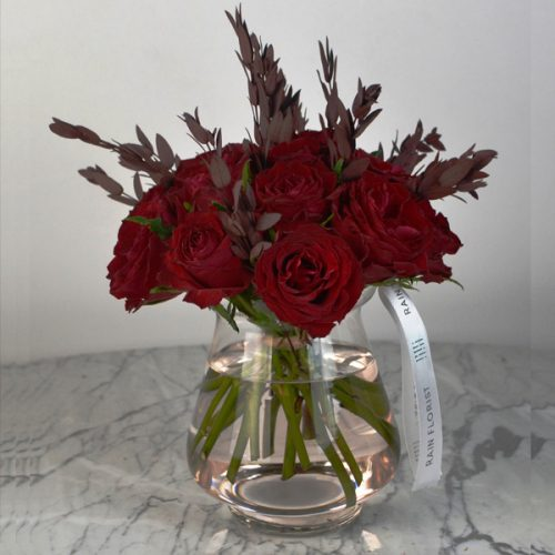 Red Romance by RainFlorist Flowers Bahrain Delivery