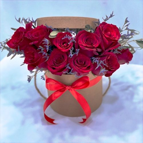 Rose Box by Heaven Garden Flowers Bahrain Delivery