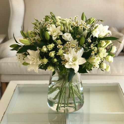 White Elegance By Flour and Flower Flowers Delivery Bahrain