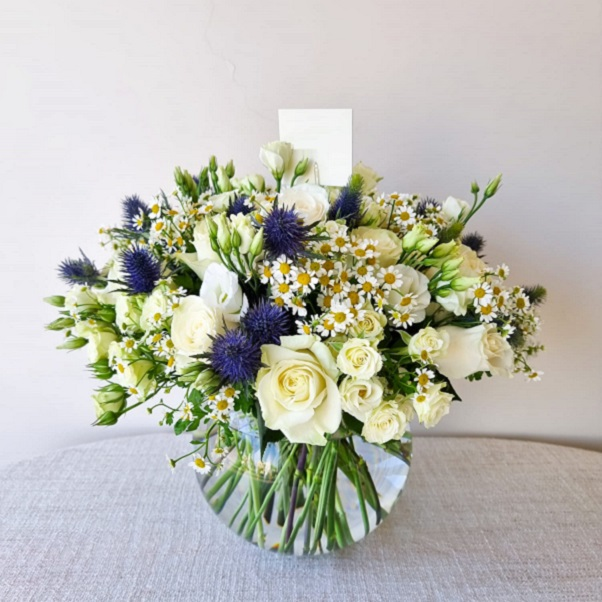 Charming Bloom by Flour and Flower Bahrain Flowers Delivery